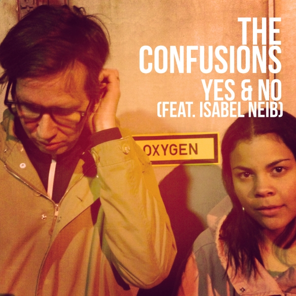 The Confusions - omslag yes & no_utkast